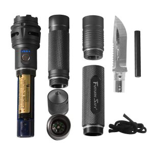 Ausrüstung Taschenlampe wasserdicht, Outdoor Ausrüstung